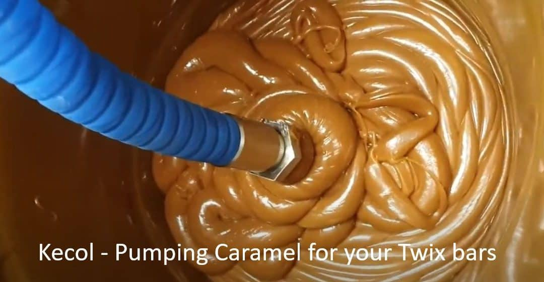 Kecol Food Processing Pump – Transferring Caramel for Twix