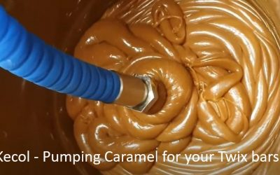 Kecol Food Processing Pump – Transferring Caramel for Twix